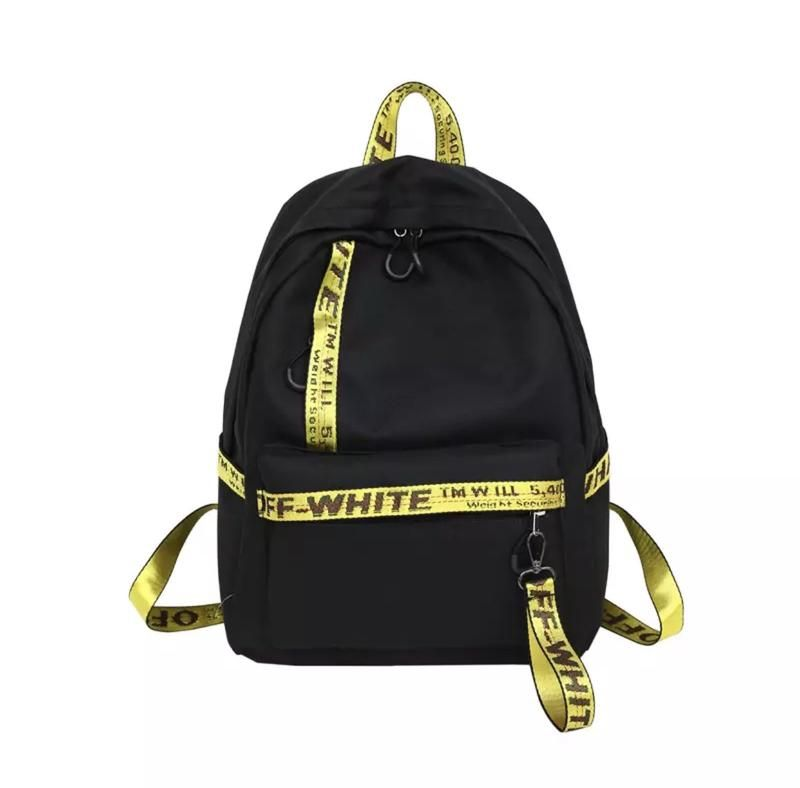 Off White Backpacks (With images) | White backpack, Off