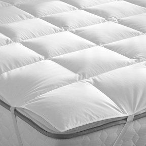 Downright Down Alternative 60 X 80 Queen Mattress Pad By Downright 169 00 For Those Who Like The Look And Fee Spring Bedroom Mattress Pad King Size Mattress