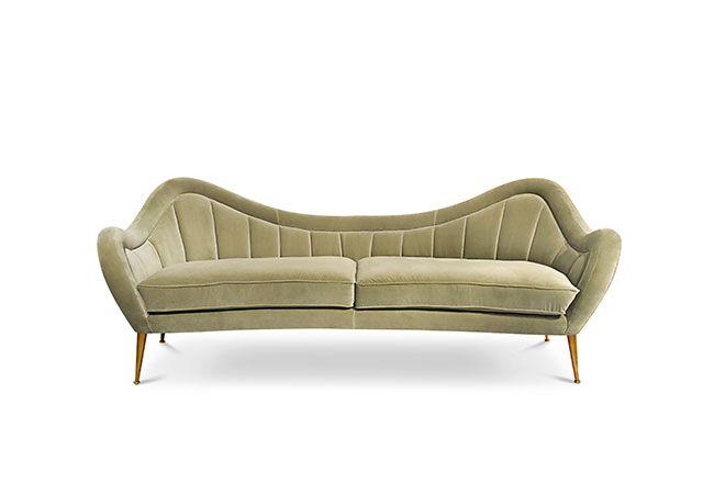 HERMES | Modern Sofa by BRABBU