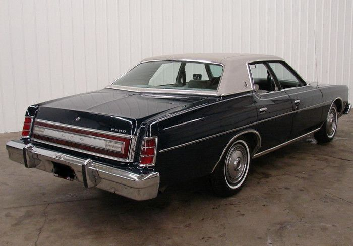 1978 Ford Ltd In Dark Midnight Blue With Grey Vinyl Top And Interior Ford Ltd Ford Galaxie Edsel