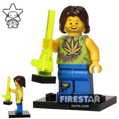 Custom Citizen Brick Mini Figure - Botany Enthusiast V2 | Citizen Brick | Custom Design Minifigures | Firestartoys.com