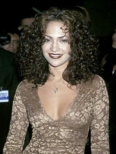 Curly JLO ...