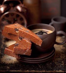 Recipe: Espresso-Turrón (nougat) [GER] #glutenfree #vegan