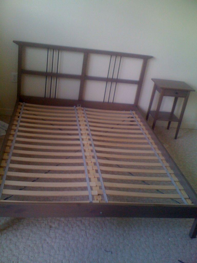 Ikea Rykene Bed Frames Assembled At Ashton Apartments