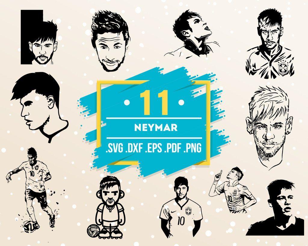 Neymar Svg Neymar Jr Junior Psg Print Poster Football Poster Soccer Poster Famous People Celebrity Celebrity Silhouette Artist Artist Silhouette Celebri Soccer Poster Neymar Football Poster