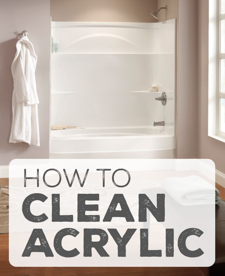 How To Clean Your Acrylic Delta Shower Or Tub Acrylic Shower
