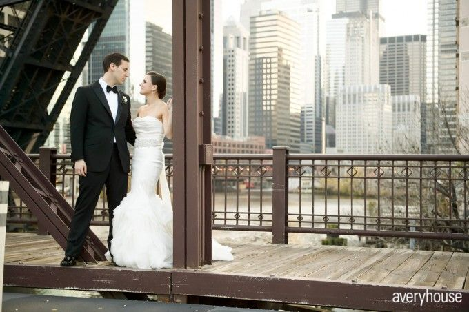 Where To Take Wedding Day Photos In Chicago