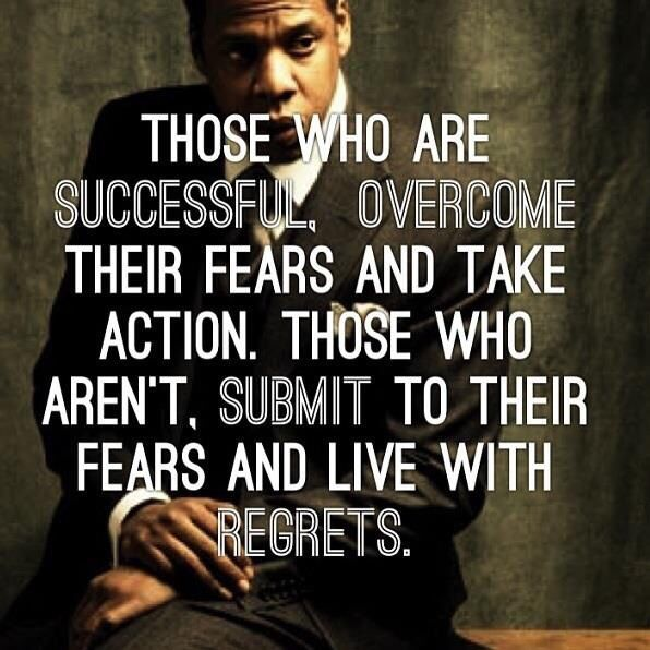 Inspirational Quotes About Fear: Entrepreneur Fear Quote