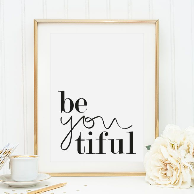 Be you tiful, Poster - Tales by Jen | Poster Shop