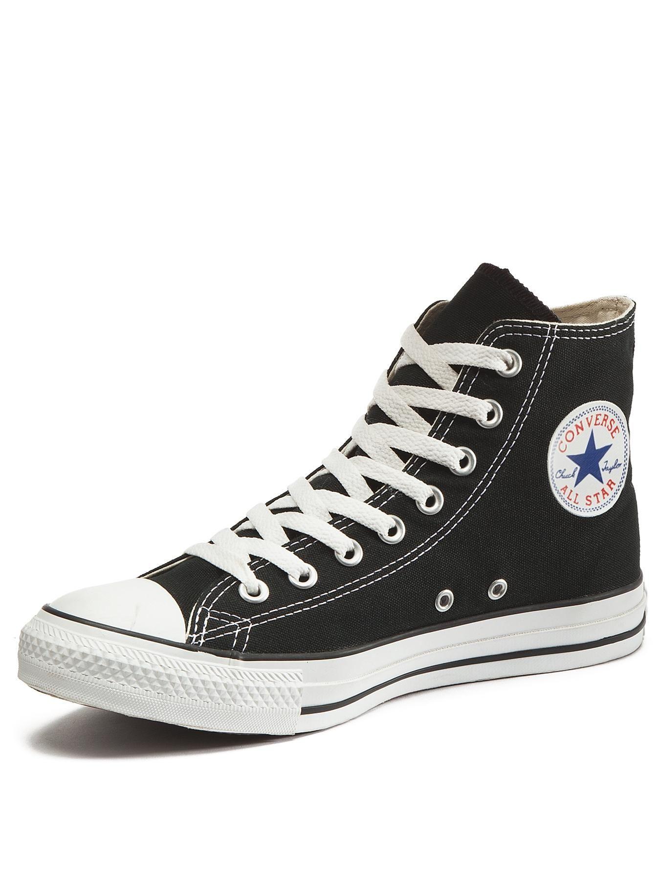 Converse Chuck Taylor All Stars Hi Top Plimsolls - Black  cb559b8d0
