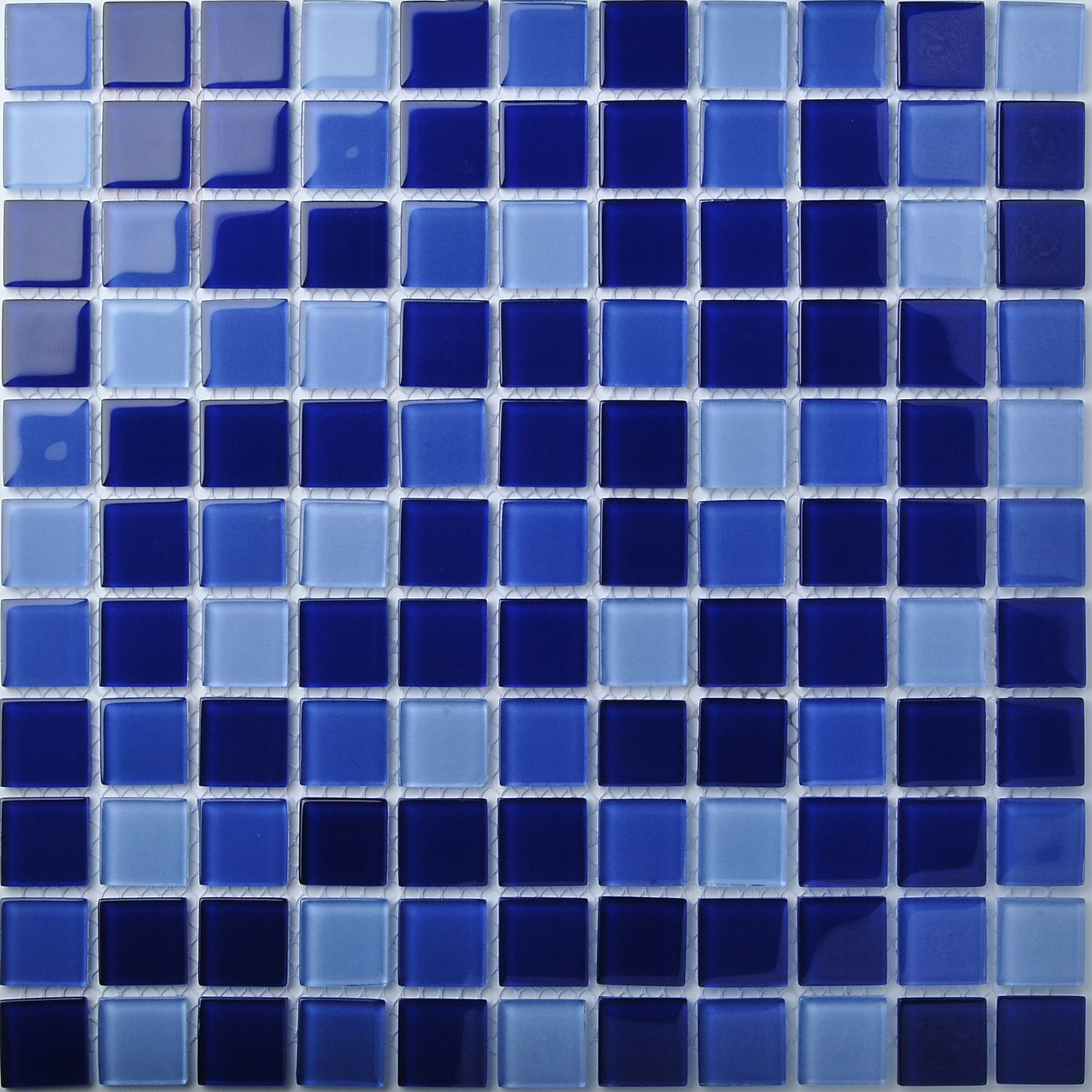 TST Crystal Glass Tiles Deep Blue Gorgeous Shinny Designed Mosaic Tile Cutting Bathroom Remodeling. View more : http://www.tstmosaictiles.com/index.php?route=product/product&product_id=336&search=TSTFLY01