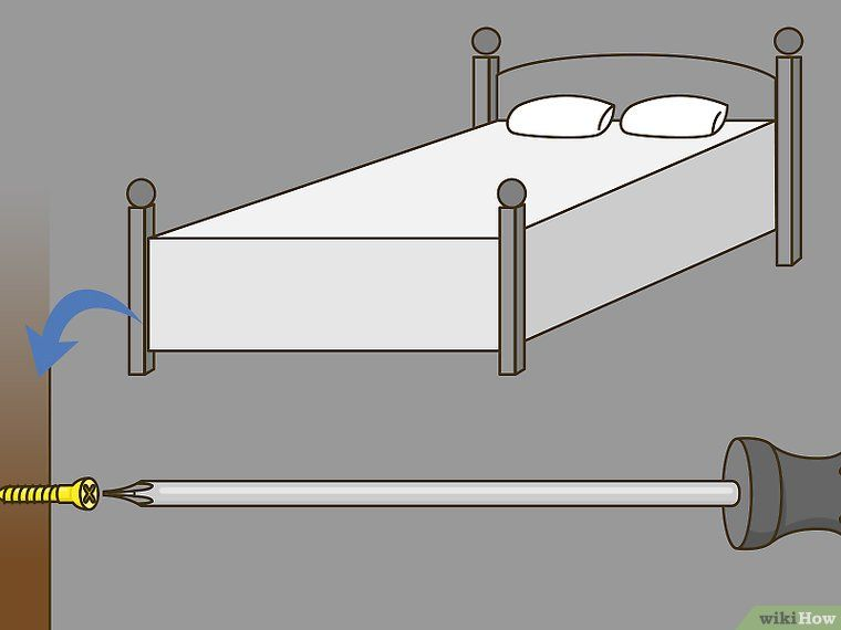 How To Fix A Squeaking Bed Frame Bed Frame Wooden Bed Frames Furniture Fix