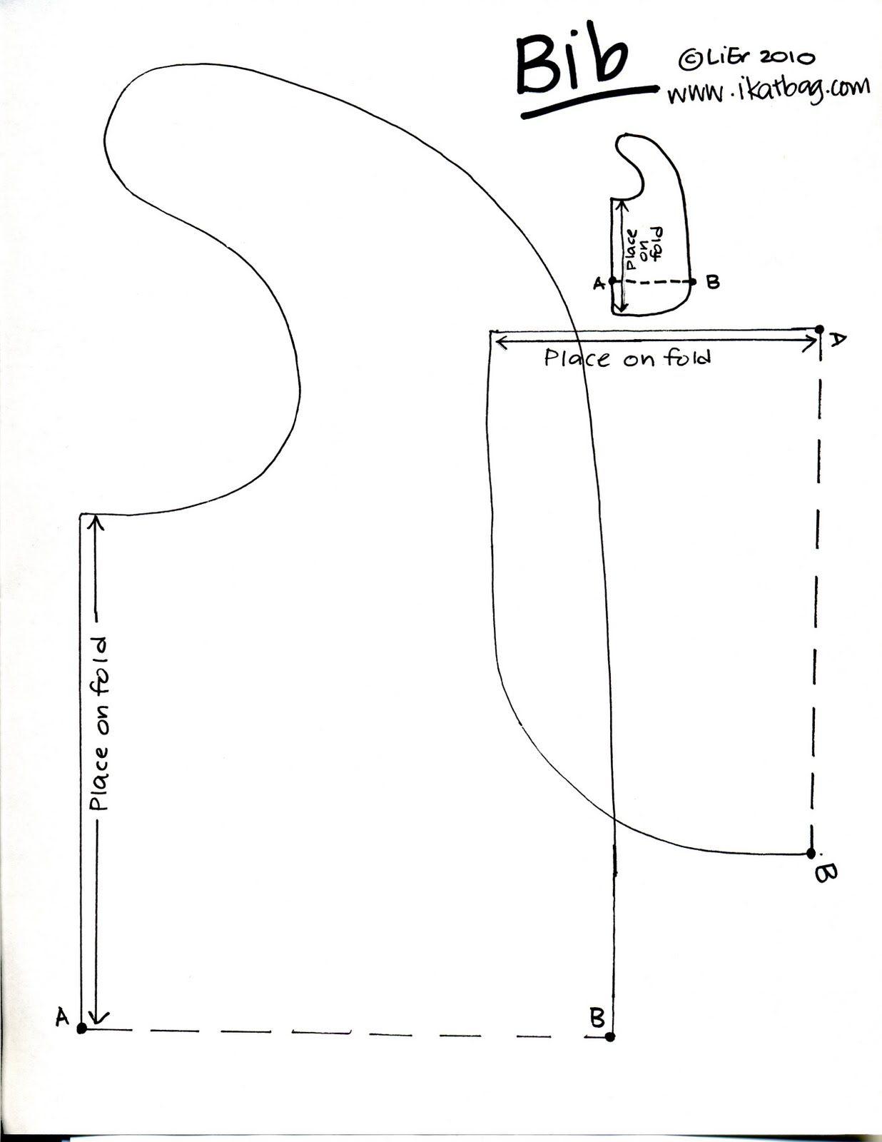 ikat bag: Patterns BIB pattern | Sewing | Pinterest | Bib pattern ...