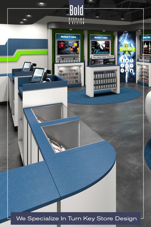 Custom Vape, CBD & Wellness Store Design with Budget in
