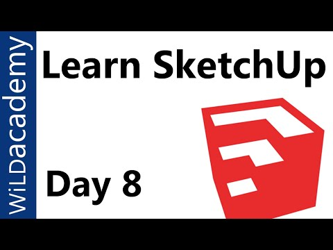 Sketchup Tutorial 8 Working With Curved Surfaces Youtube