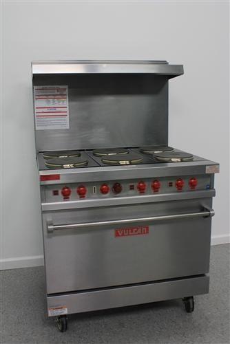 1 Vulcan E36l 6 36 Burner Electric Range Standard Oven