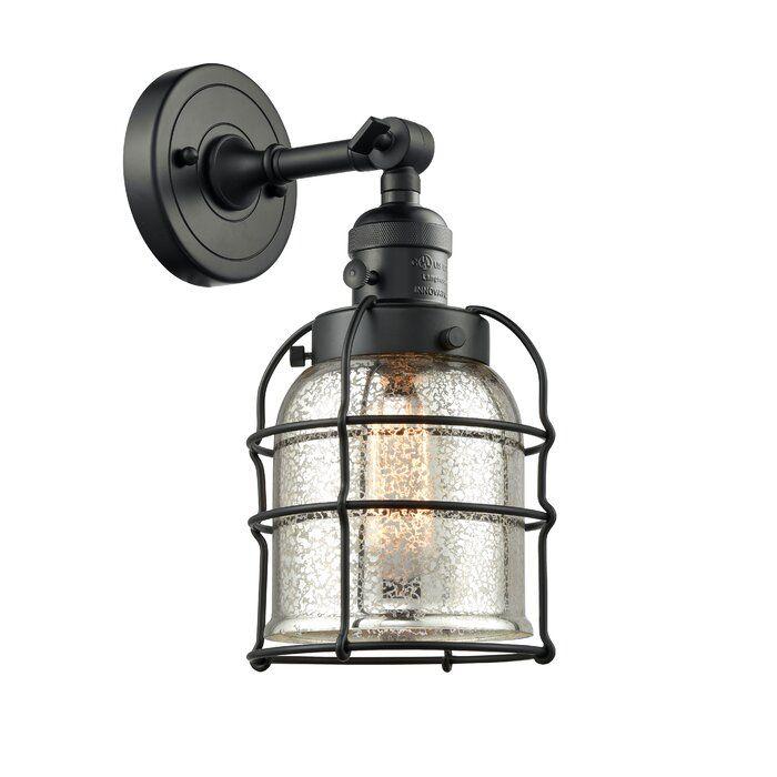 Mcandrews 1 Light Armed Sconce Innovations Lighting Wall Sconce Lighting Cage Wall Sconces