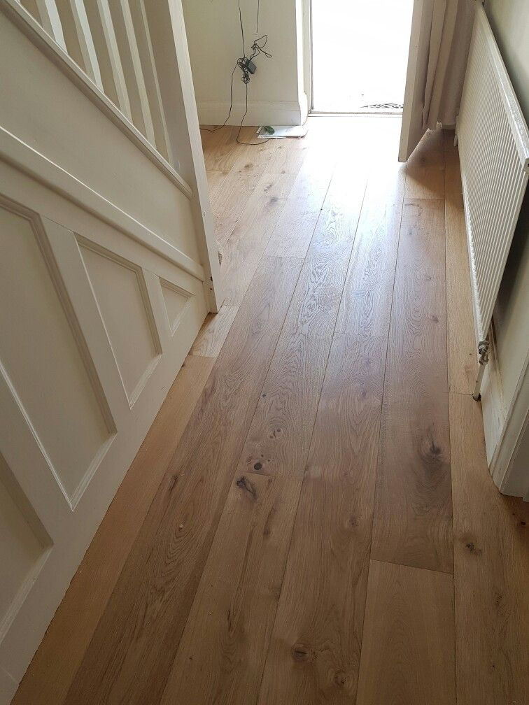 Solid oak engineered flooring installed by C.H WoodWorx