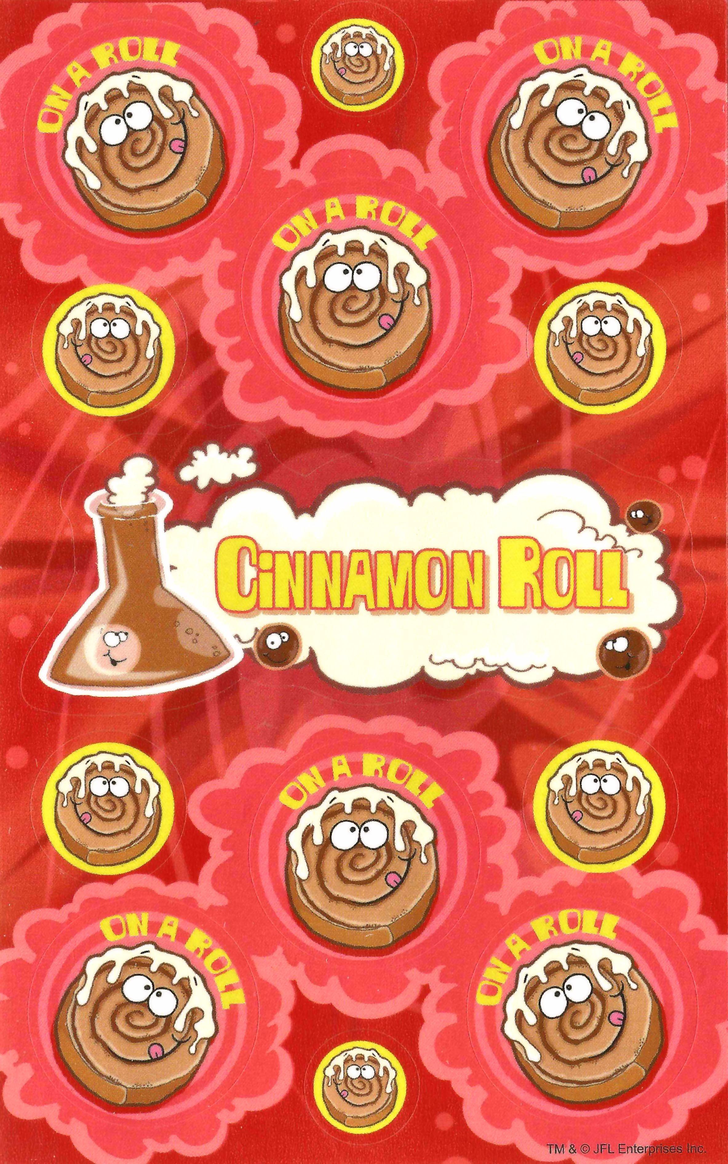 Cinnamon Scented Stickers