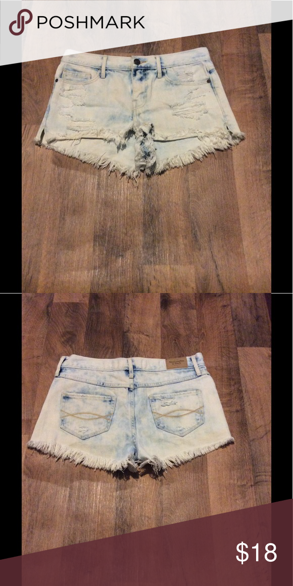 Abercrombie and Fitch Shorts Great condition only worn once or twice. Abercrombie & Fitch Shorts Jean Shorts