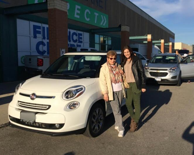 Congratulations To Renata With Her Purchase Of A 2015 Fiat 500l