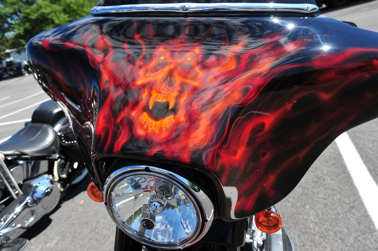 custom motorcycle paint jobs - advrider | honda vtx 1800