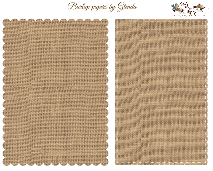picture about Printable Burlap Paper called 5 via 7 Sched and Burlap Papers paper Impressão