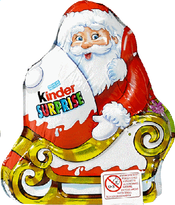 Kinder Noel KINDER Surprise père Noël 75gr | Kinderen