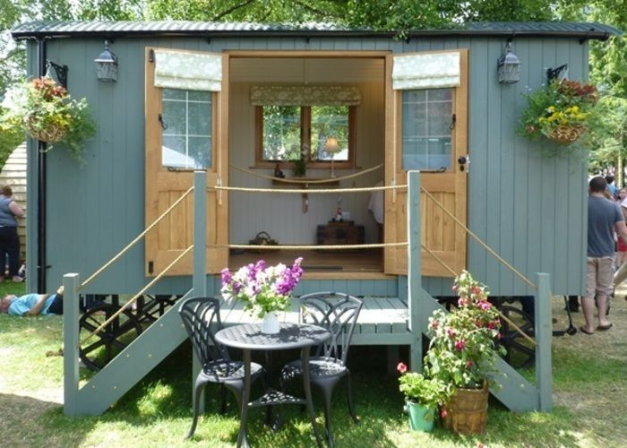 shepherds huts ireland - Google Search            ... - #Google #huts #ireland #Search #shepherds #steps #tinyhome
