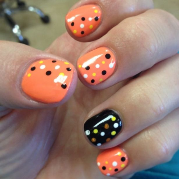 Pin by Christy hatton on nail designs | Fall gel nails ...