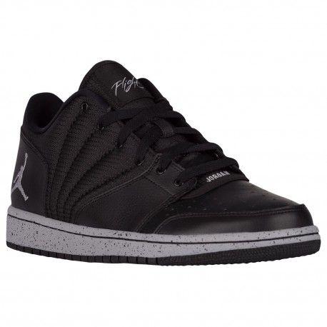 Jordan 1 Flight 4 Low - Men's - Basketball - Shoes - Black/Wolf  Grey-sku:44559003