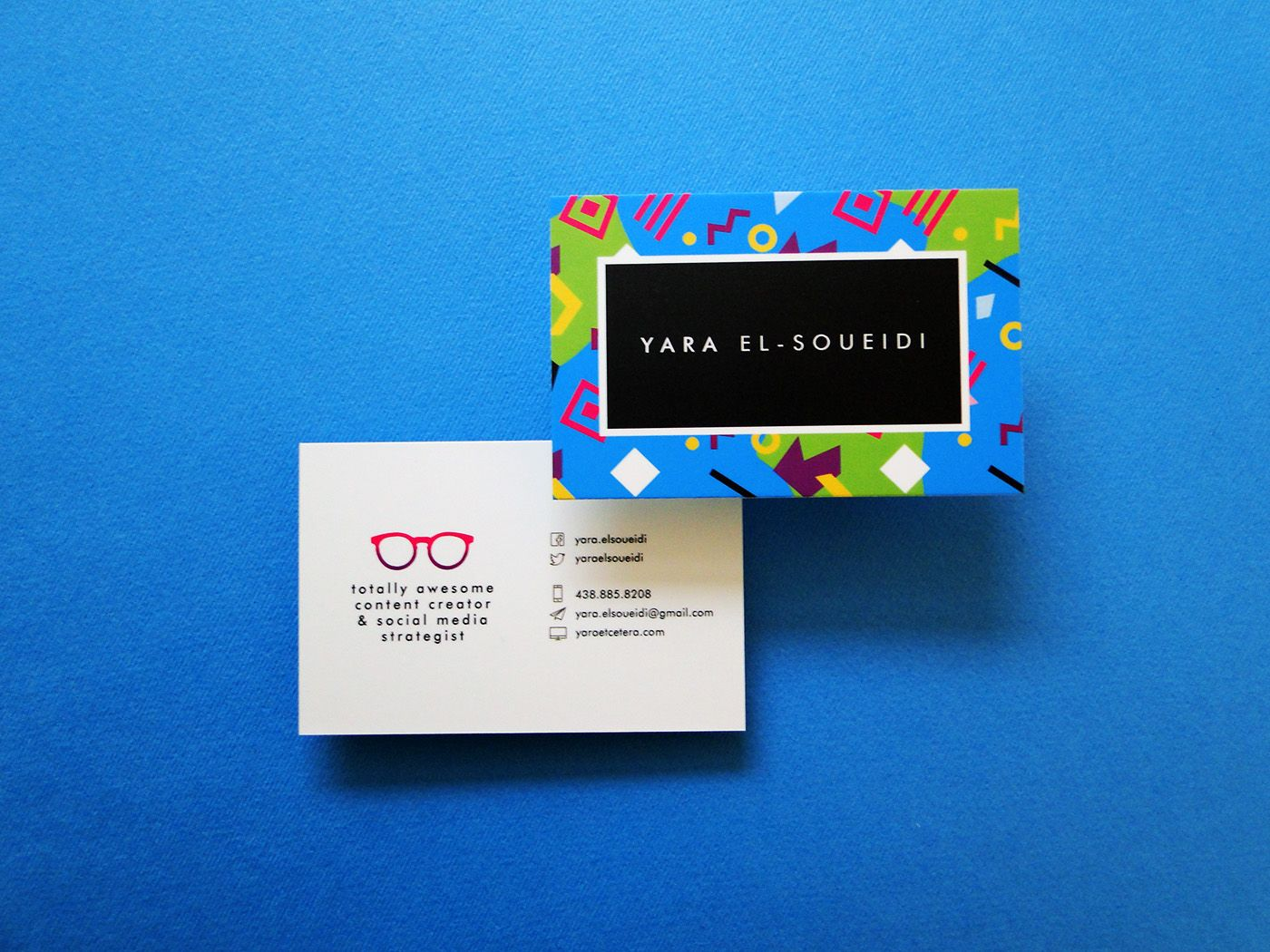 Social media strategist and totally awesome content creator, Yara El ...