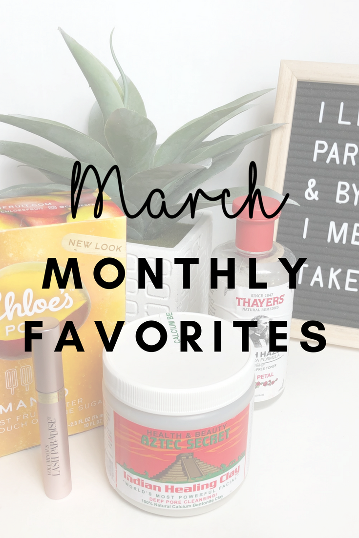 MARCH MONTHLY FAVORITES By Diandra Medina Blog video