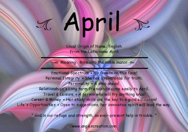 April   Angies Creation