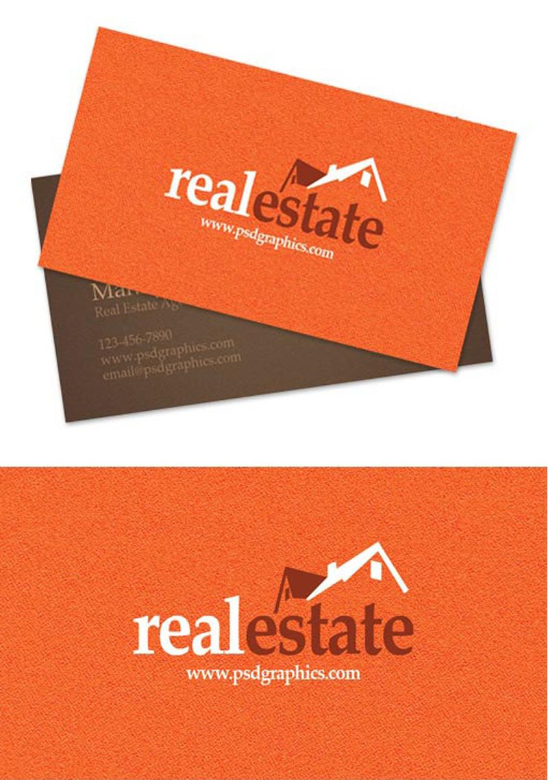 Creative business card design ideas for real estate and creative business card design ideas for real estate and construction 40 examples businesscard magicingreecefo Images