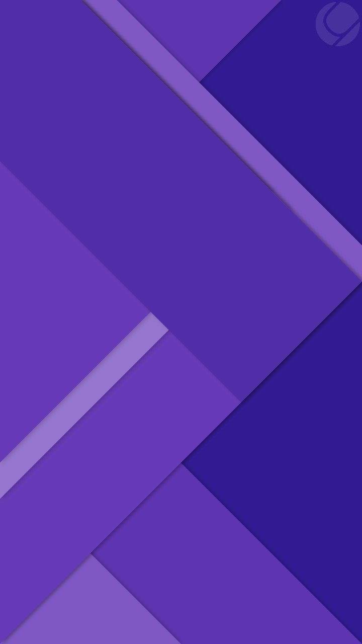 Purple And Blue Geometric Wallpaper Abstract And