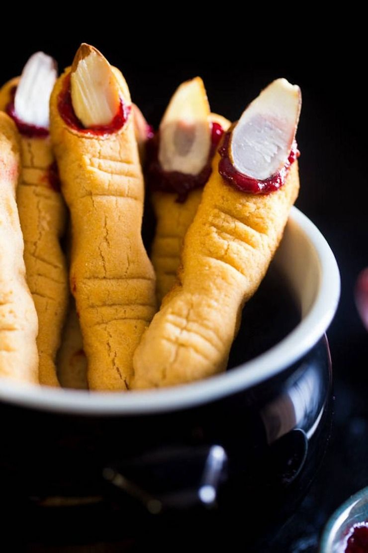 20 scary good vegan halloween treats | pinterest | witch finger