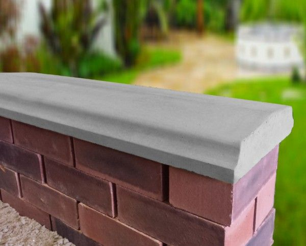 Bevelled Coping Stones Coping Stone Cornice Design Garden Wall