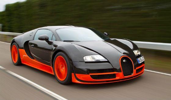 Top 10 Fastest Cars in The World 2014 1Bugatti Veyron Super