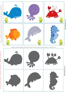 Autismus arbeitsmaterial figur und schatten visuelle - Schattenbilder kinder ...
