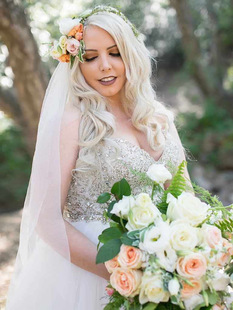 15 gorgeous makeup looks for brides with blonde hair | say