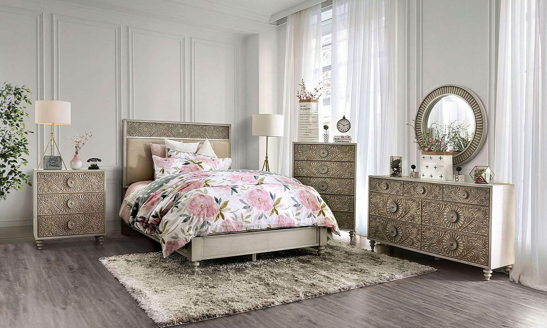 Jakarta Panel Bedroom Set King Bedroom Sets Bedroom Sets Dresser Sets