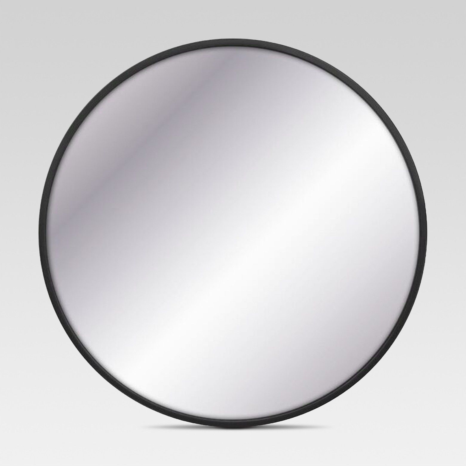 28 Round Decorative Wall Mirror Black Project 62 Large Wall Mirror Mirror Wall Black Mirror