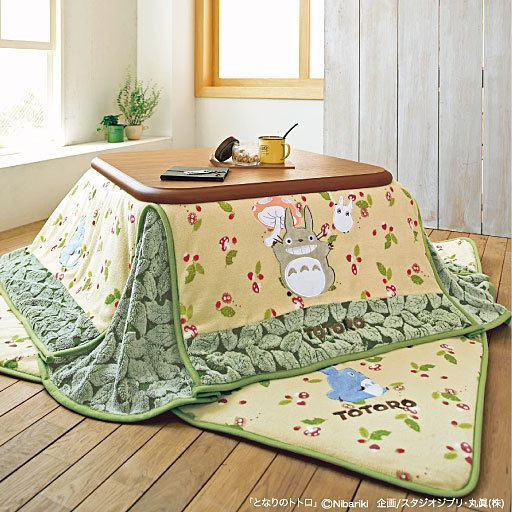 Kotatsu Cover And Mat Set My Neighbor Totoro Foot Warmer No Table From Japan