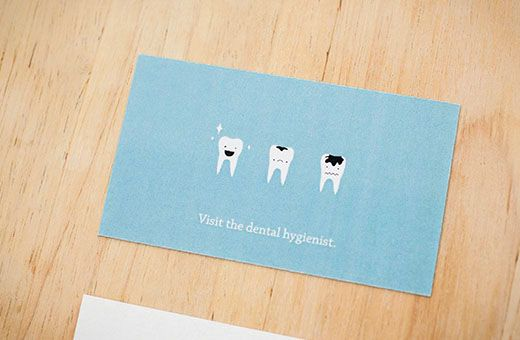 Dental hygienist business card on behance products i love dental hygienist business card on behance colourmoves
