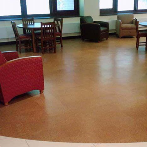 Capri Cork Installation Gallery Cork Floors Commercial Floor