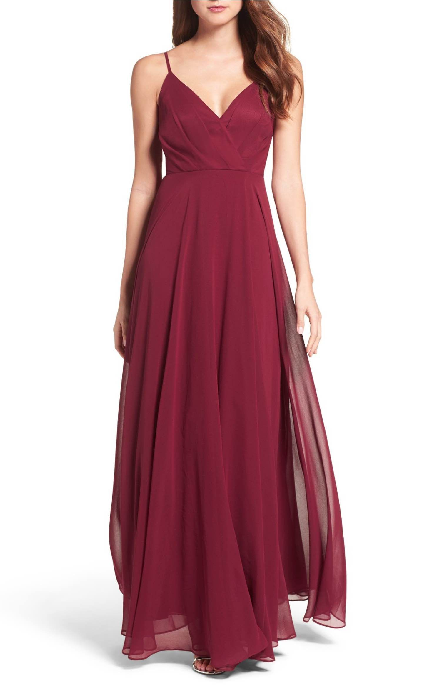 $97 Nordstrom - Lulus Surplice Chiffon Gown   (prom) dress for ...
