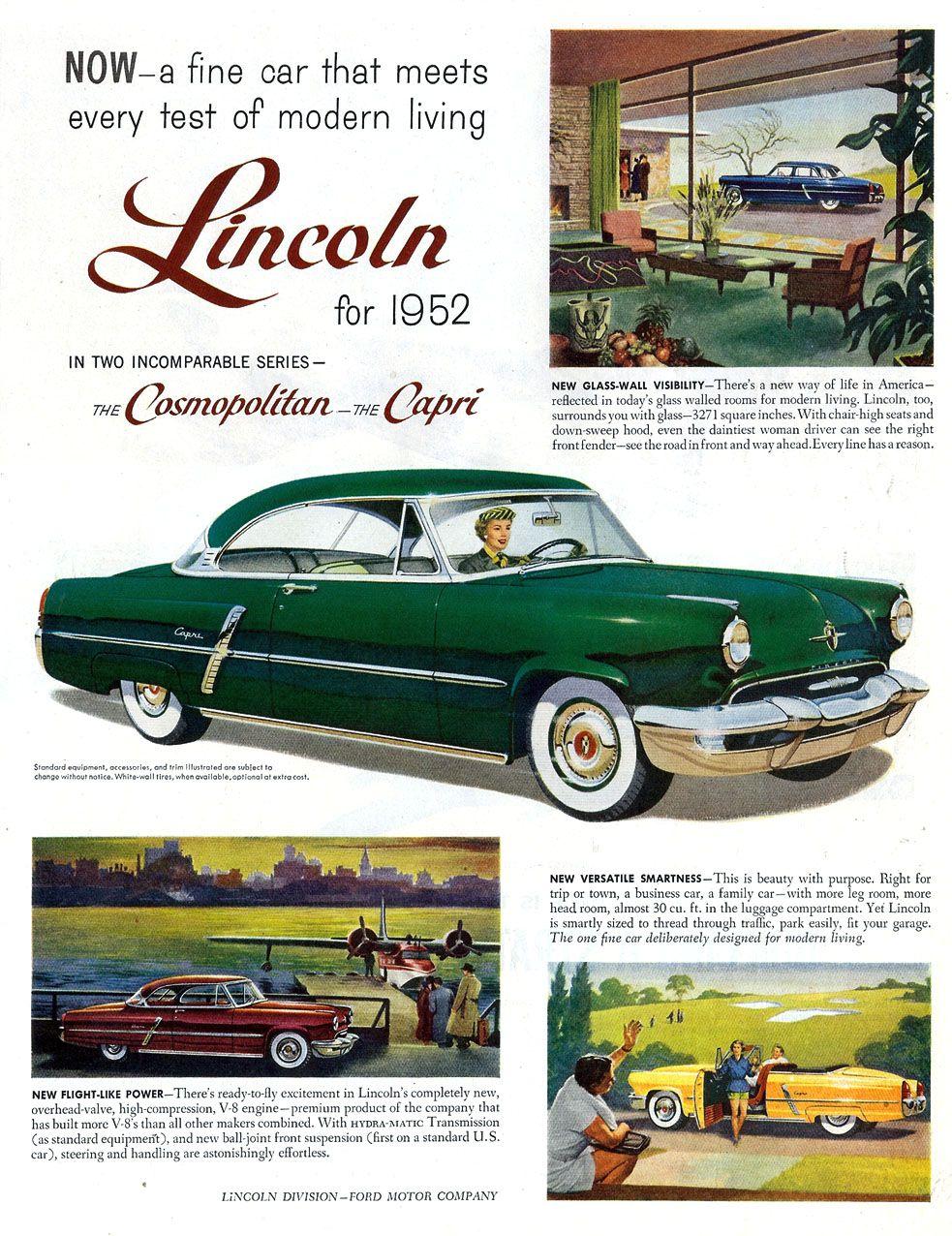 1952 Lincoln Capri Coupe