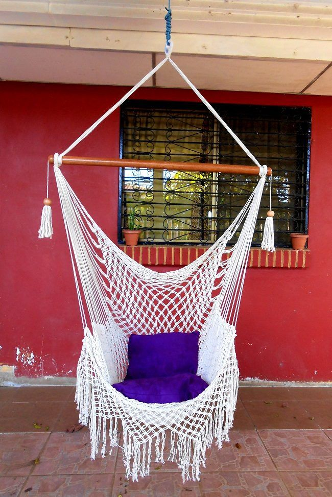 Macramé Hammock Chair DIY