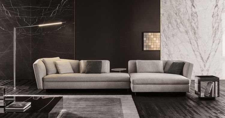 Meuble salon design en 23 id es hyper tendance interiors salons sam meuble salon - Meubles minotti ...